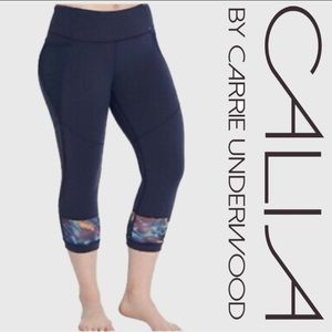 CALIA by Carrie Underwood Crop Leggings Size XS